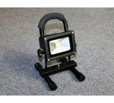 10 Watt aufladbare LED Baustrahler / LED Fluter /