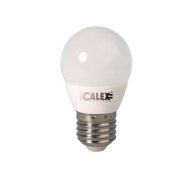 3,4 Watt Calex LED Kogellamp 240V 3,4W E27 P45, 25