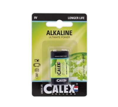 Calex batterijen Alkaline blok batterij 6LR61 9V,