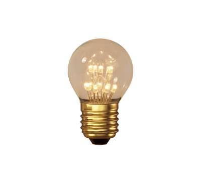 0,9 Watt Calex Pearl LED Kugel Birne 240V 0,9W E27