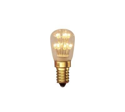 Calex Pearl LED Schalttafel Birne 240V 0,9W E14 T