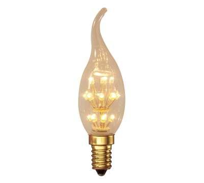 Calex Pearl LED Tip Kerze Birne 240V 0,9W E14 BXS3