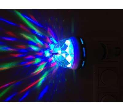 LED-Disco-Licht 3 Watt E27