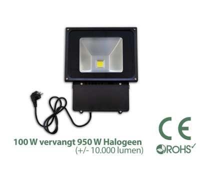 100 Watt LED Baustrahler / LED Fluter