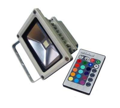 Led Bouwlamp 10 watt met RGB