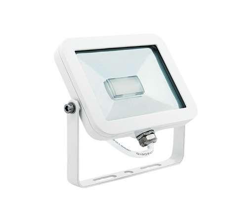 11 Watt LED Baustrahler weiss / LED Fluter