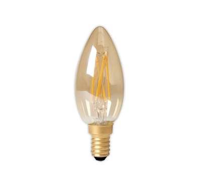 LED Lamp Calex Dimbare Led Filament Kaarslamp 3,5W E14