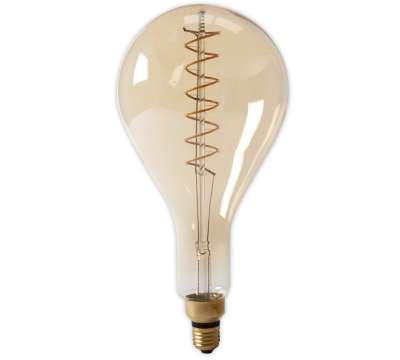 Led lamp Calex LED Lang Filament Splash 4W E40 Gold 2100K Dimbaar