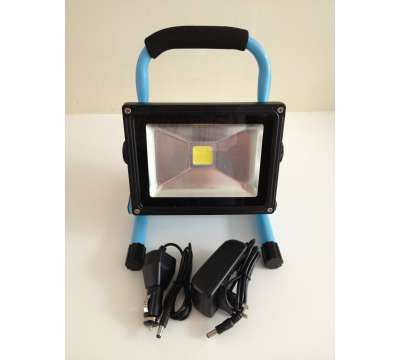 20 Watt aufladbare LED Baustrahler / LED Fluter /